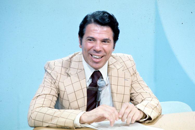 Silvio Santos nos anos 70, quando ainda era contratado da TV Globo