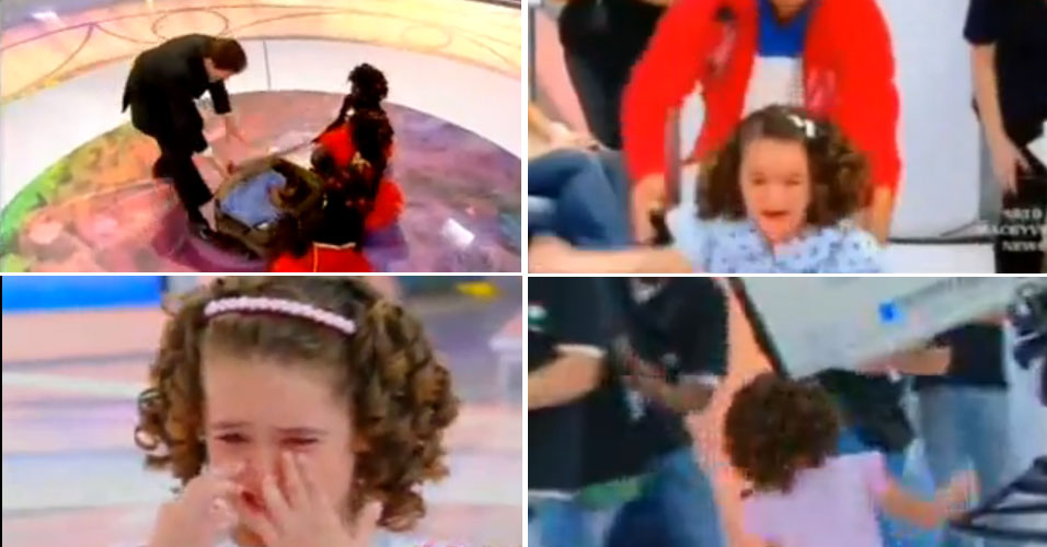 Em maio de 2009, Maísa foi proibida de gravar com Silvio. Em um programa, ele havia trancado a menina em uma mala. Em outro dia, ele a assustou convidando um garoto maquiado ao palco. Não satisfeito, no domigo seguinte ao susto, Silvio provocou a menina até que ela chorasse novamente - e, ao correr do palco, acabou batendo a cabeça. Depois desses episódios, a Justiça proibiu a participação da garota de 7 anos no