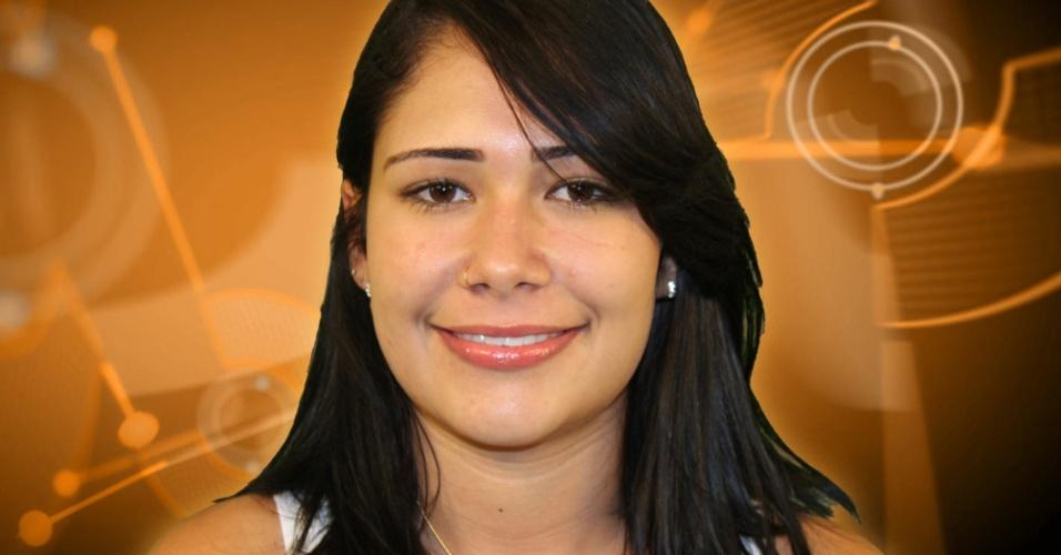Jakeline, 22 anos, estudante de zootecnia, participante do BBB 12 (jan/2012)