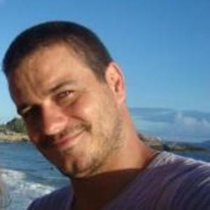Rafa, 35 anos, projetista de iluminação, do Rio de Janeiro, em foto do Facebook (2011)