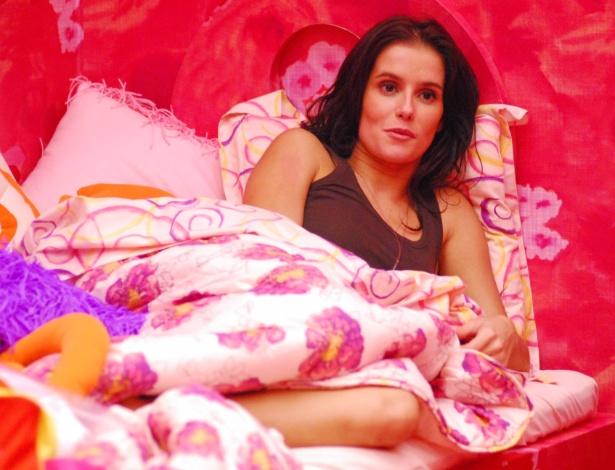 """Deborah Secco na casa do """"BBB8"""" (2008)"""