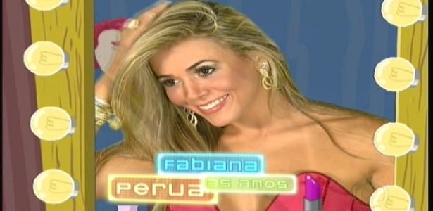 """""""Fabiana, perua"""", um dos 16 tipos previsíveis apresentados ao público na noite de estreia do """"BBB12"""""""