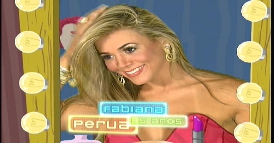 """Fabiana é chamada de perua na estreia do """"BBB12"""" (10/1/2012)"""