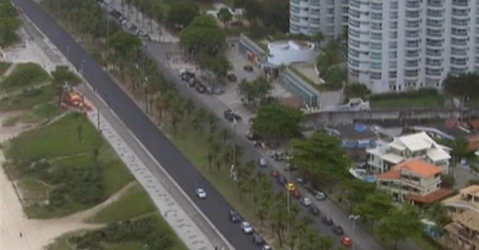 """Participantes do """"BBB12"""" deixam hotel e seguem em carreata para o Projac (10/01/2012)"""