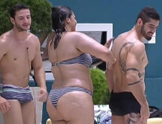 """Analice: """"quero bolinar todos os homens do Big Brother"""""""