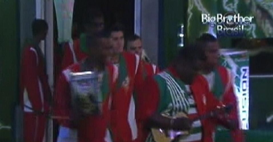 Escola de Samba Grande Rio invade primeira festa do