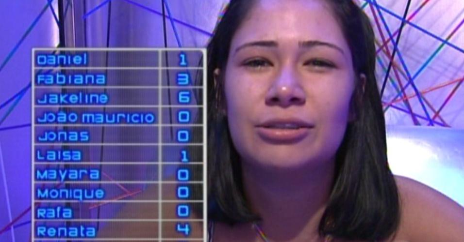 Jakeline vota em Renata (15/1/12)