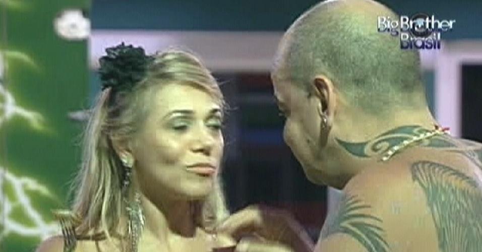 João Carvalho se abre com Fabiana