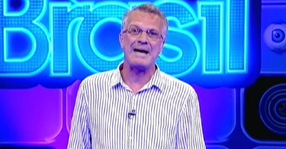 """Pedro Bial comanda o primeiro paredão do """"BBB12"""""""
