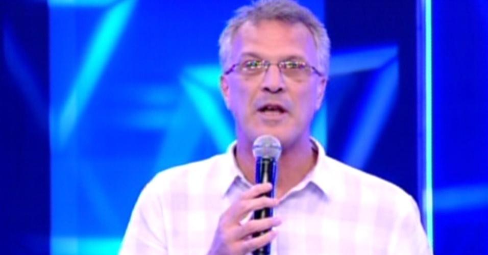 Pedro Bial comenta eliminação de Daniel (17/1/12)