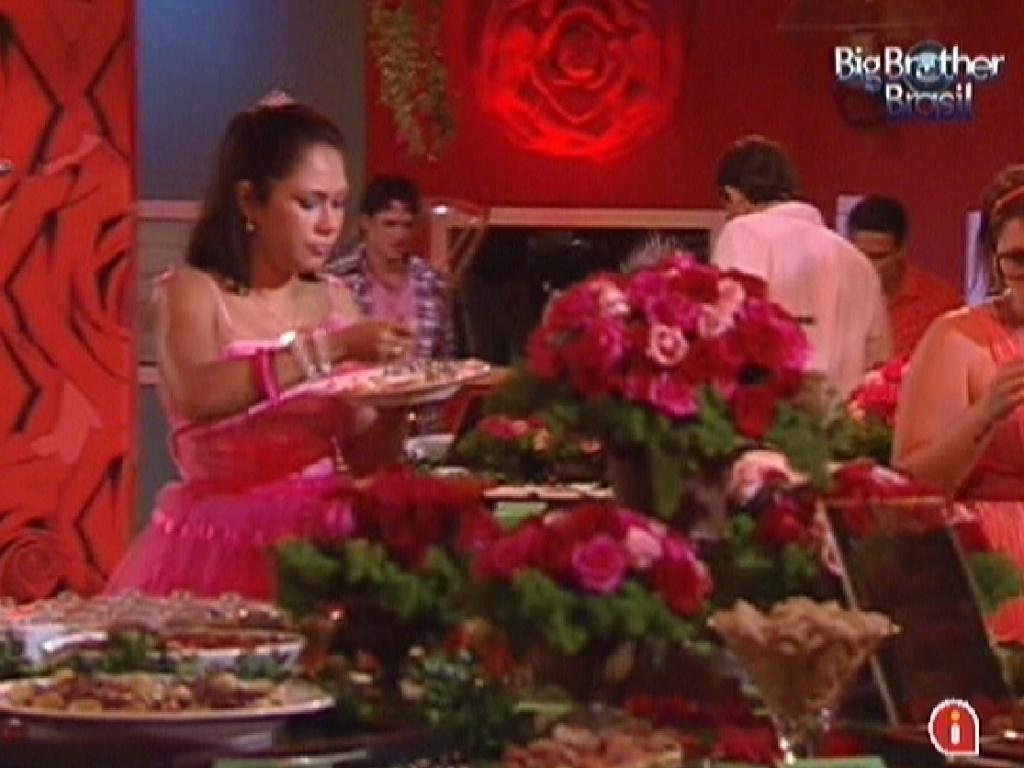 Brothers comem durante festa Rosas (18/1/12)