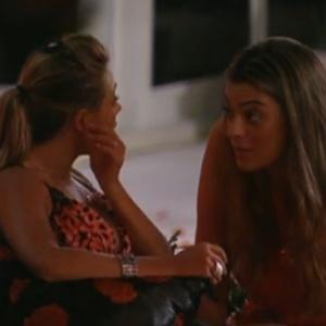 Monique desabafa com Fabiana (18/1/12)