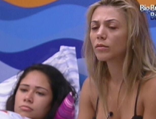 Jakeline (esq.) e Fabiana acordam nesta sexta-feira (20/1/12)