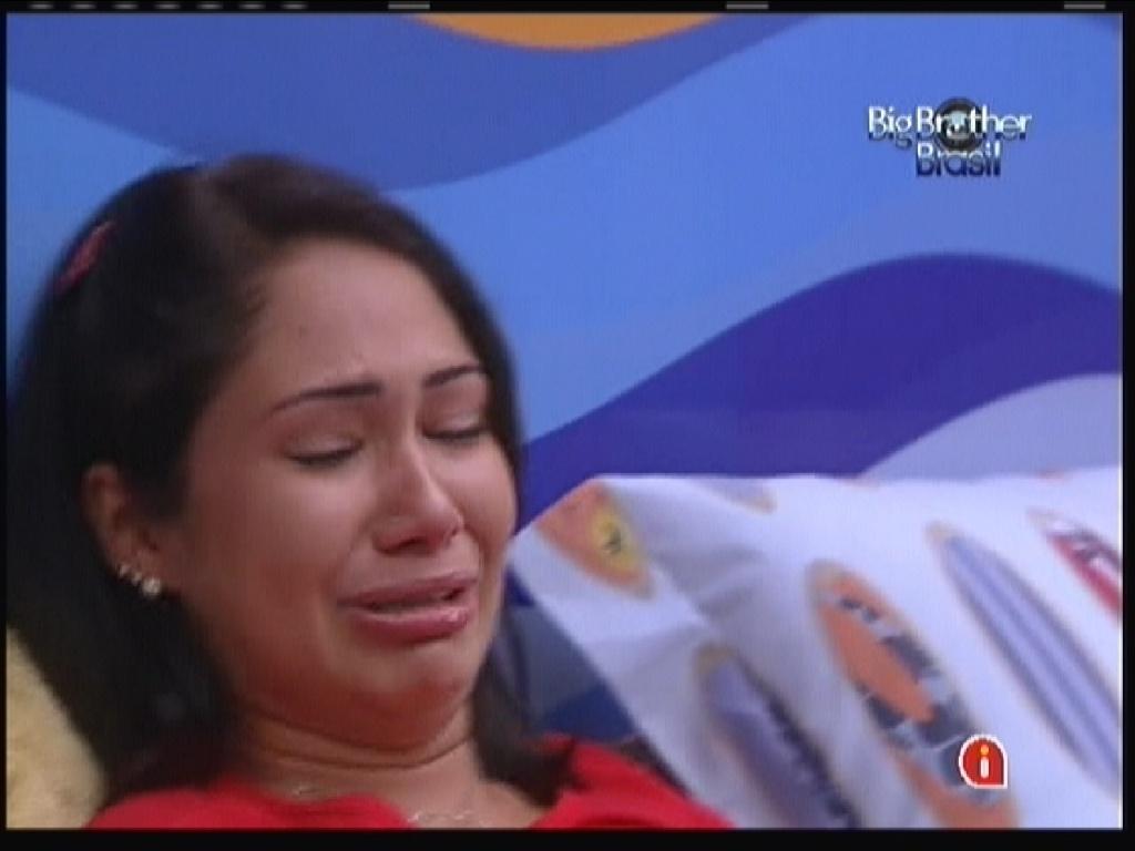 Jakeline chora em conversa com Jonas (20/1/12)