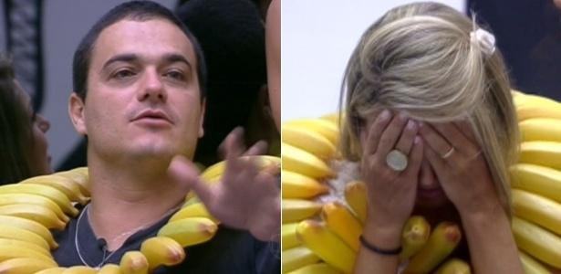 Após jogo, Rafa e Fabiana terão que ficar 36 horas comendo apenas banana e bebendo água (23/1/12)