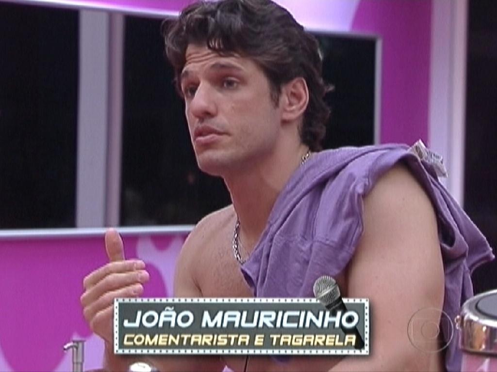 João Maurício é retratado como