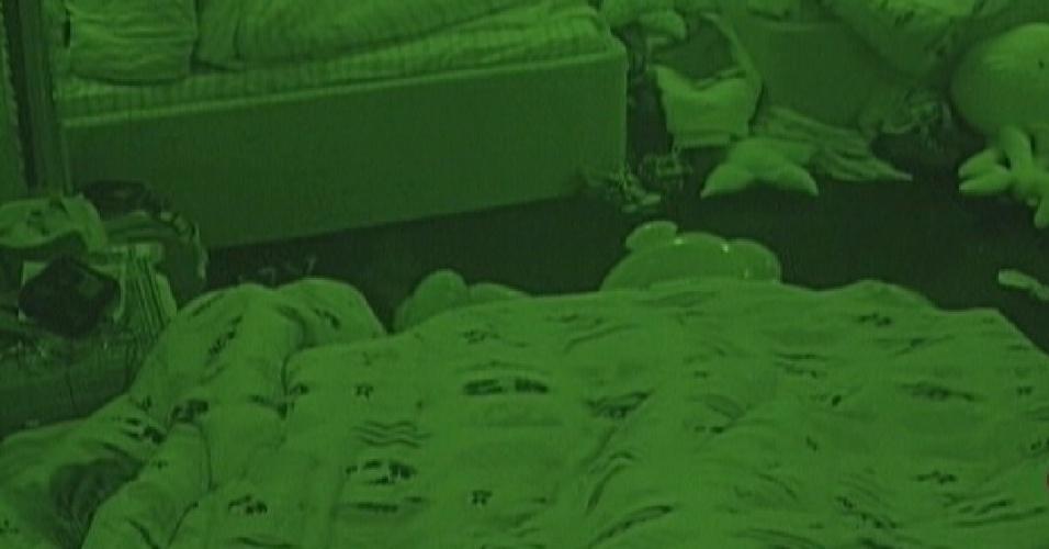 BBBs continuam dormindo na manhã desta quinta-feira (26/1/12)