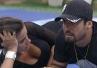 """O primeiro rompimento durou 30 minutos. Quanto tempo vai durar a separação de Yuri e Laisa no """"BBB12""""? - Reprodução/TV Globo"""