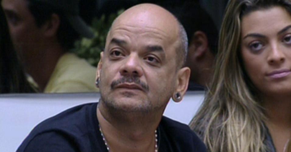 João Carvalho diz que sua escolha para o poder do veto da prova do líder será tranquila (2/2/12)