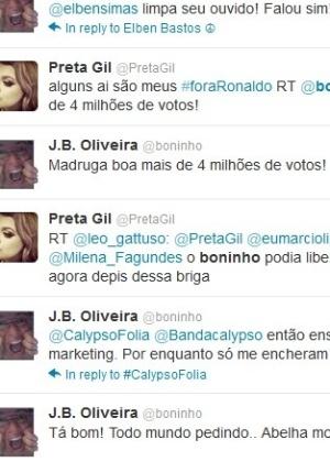 Boninho escreve no Twitter sobre votação (5/2/12)
