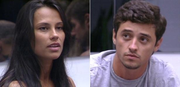Kelly e Fael são vetados por Rafa para participarem da prova do líder (9/2/12)
