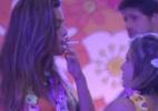 Você acha que Monique tem razão em ficar chateada com Renata por ela ter ficado com o Jonas? - Reprodução/TV Globo