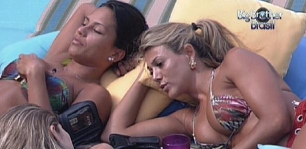 Renata se justifica por ter mandado Fabiana para o paredão (9/2/12)