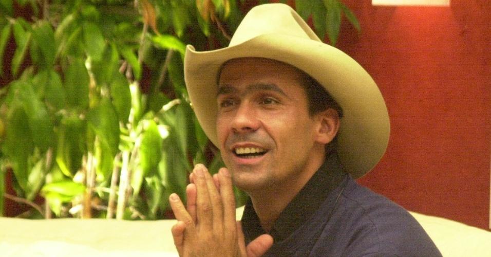 """Rodrigo Leonel, conhecido como o caubói do """"BBB2"""""""