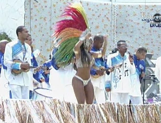 Brothers recebem a visita da bateria da Beija-Flor (17/2/12)