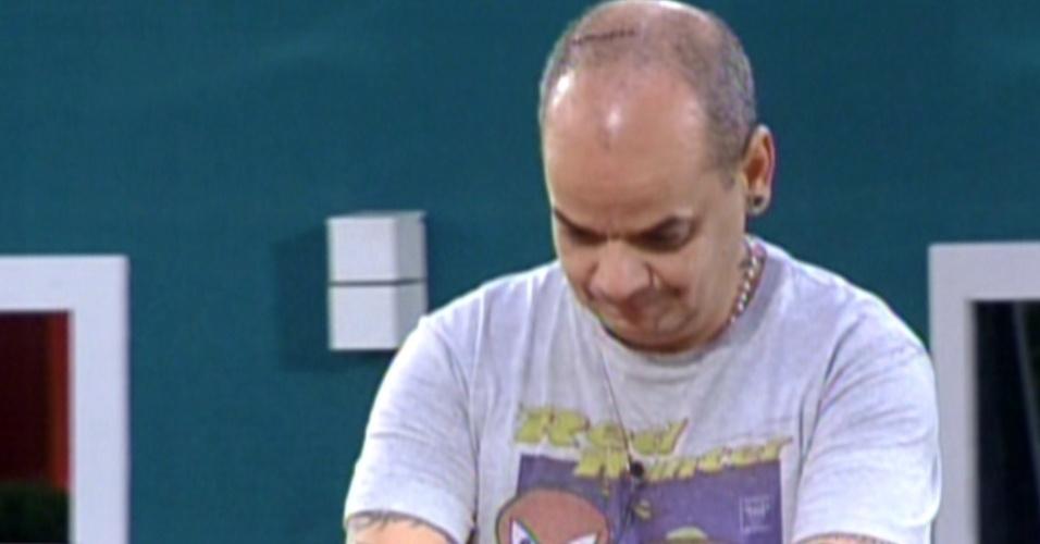 A primeira semifinal foi entre Fael x João Carvalho (16/2/12)