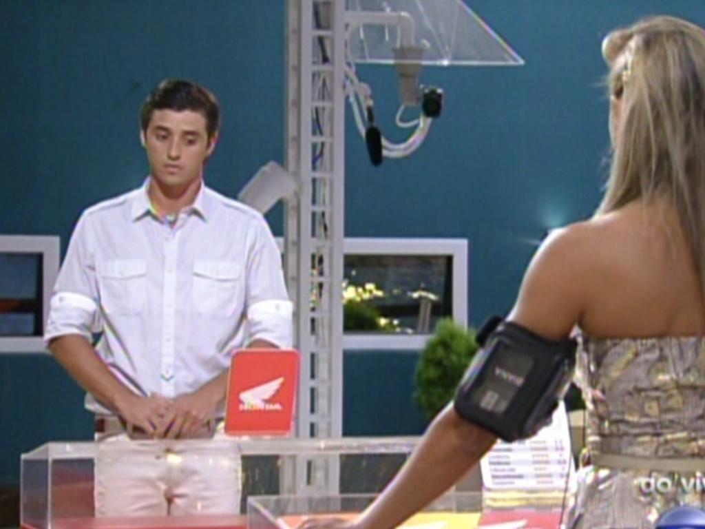 Fael e Fabiana disputam a nova prova do líder (18/2/12)