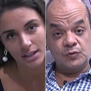 """Laisa e João Carvalho estão no sexto paredão do """"BBB12"""" (19/2/12)"""
