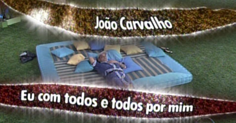 João Carvalho é apresentado como