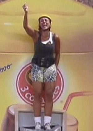"""Fabiana é a nova líder do """"BBB12"""" (24/2/12)"""