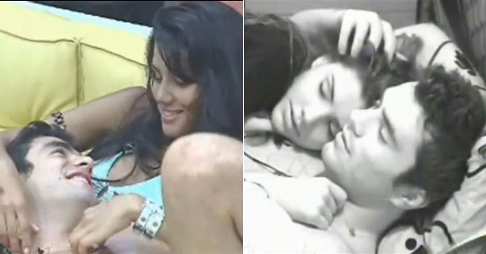"Mariana e Daniel Saulo do ""BBB6"""