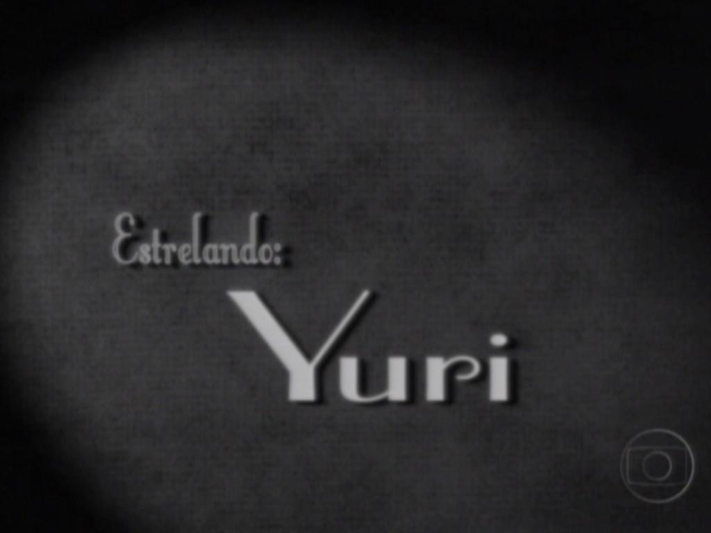 Yuri foi o protagonista do quadro apresentado no programa ao vivo (28/2/12)
