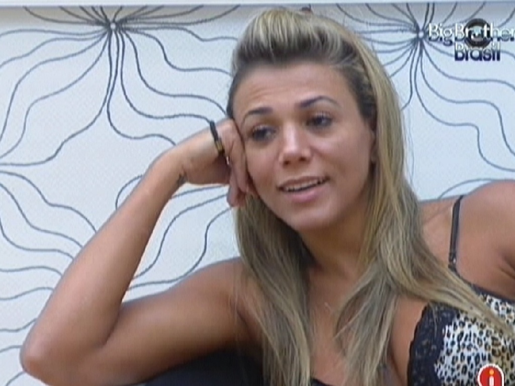 Fabiana conversa com Fael no quarto do líder (1/3/12)