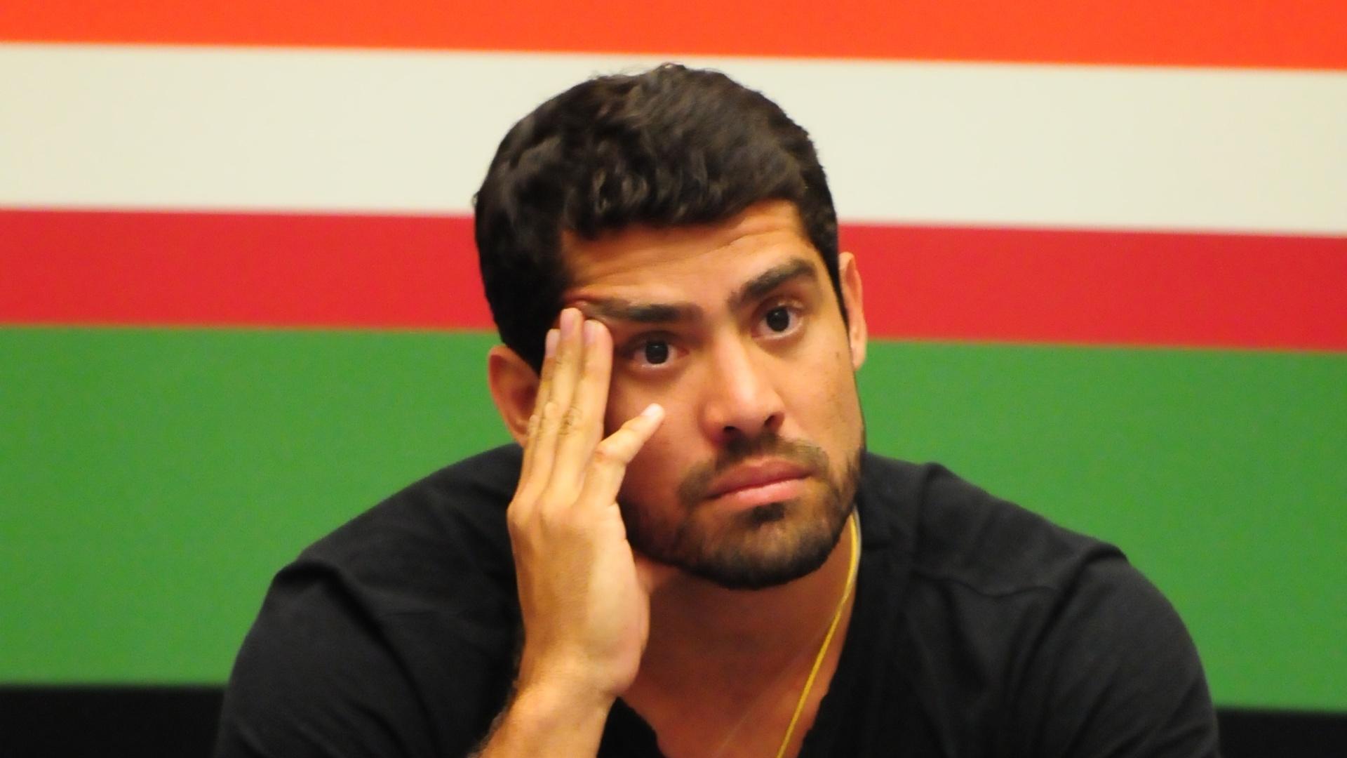 O líder Yuri indica João Carvalho para o paredão (4/3/12)