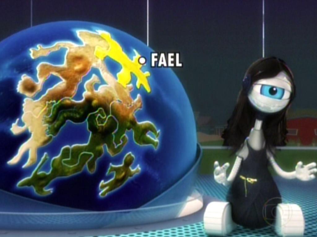 Em seguida, a região do Fael, onde nunca choveu mulher desde o começo do programa (6/3/12)