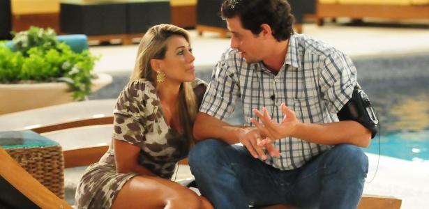 A relação de Fabiana e Fael é apenas amizade ou há um interesse por parte dos dois?