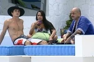 Fael, Kelly e João Carvalho conversam sobre a dificuldade das próximas semanas de confinamento (7/3/12)