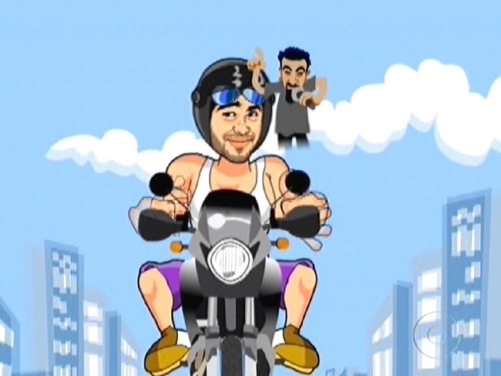 O goiano disse que quando anda de moto, sempre ouve System of a Down, banda americana formada em 1992 (7/3/12)