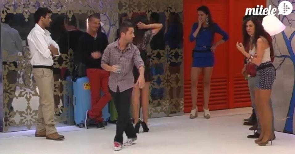 "Laisa entra na casa do ""Gran Hermano"" espanhol (8/3/12)"