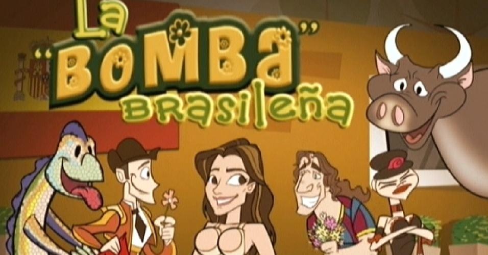 """Programa mostra a participação de Laisa no """"Gran Hermano"""", versão espanhola do Big Brother (11/3/12)"""