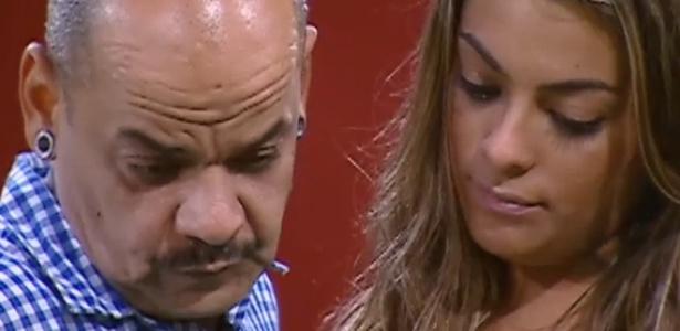 João Carvalho confessa que está aliviado por não enfrentar Monique (11/3/12)