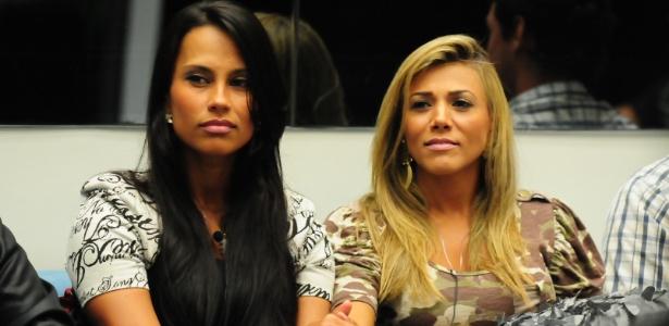 Kelly e Fabiana tiveram um desentendimento na manhã desta quinta-feira (22)
