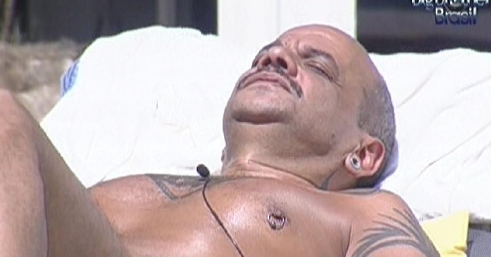 João Carvalho aproveita manhã de Sol (15/3/12)