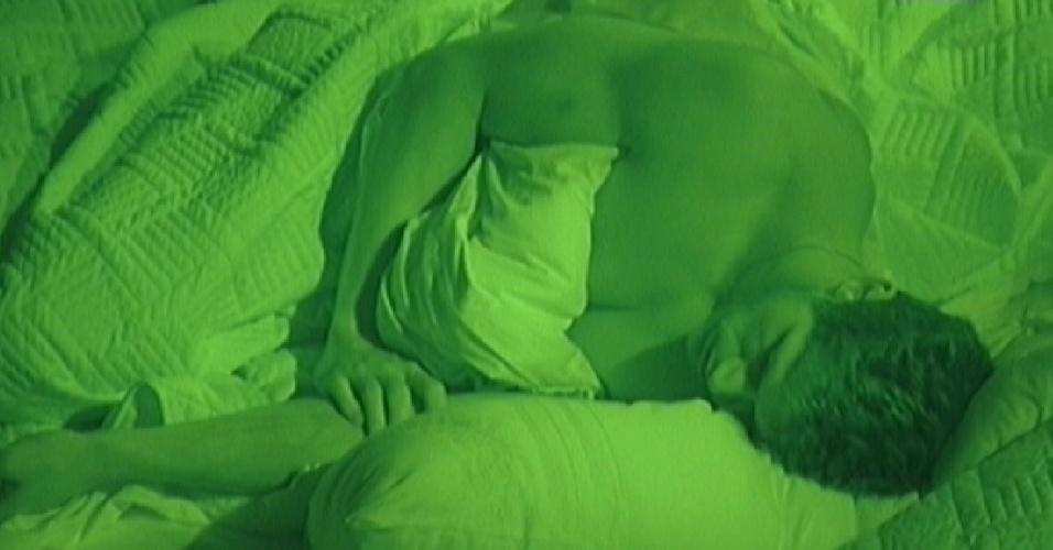 Jonas dorme sozinho no quarto do líder (17/3/12)