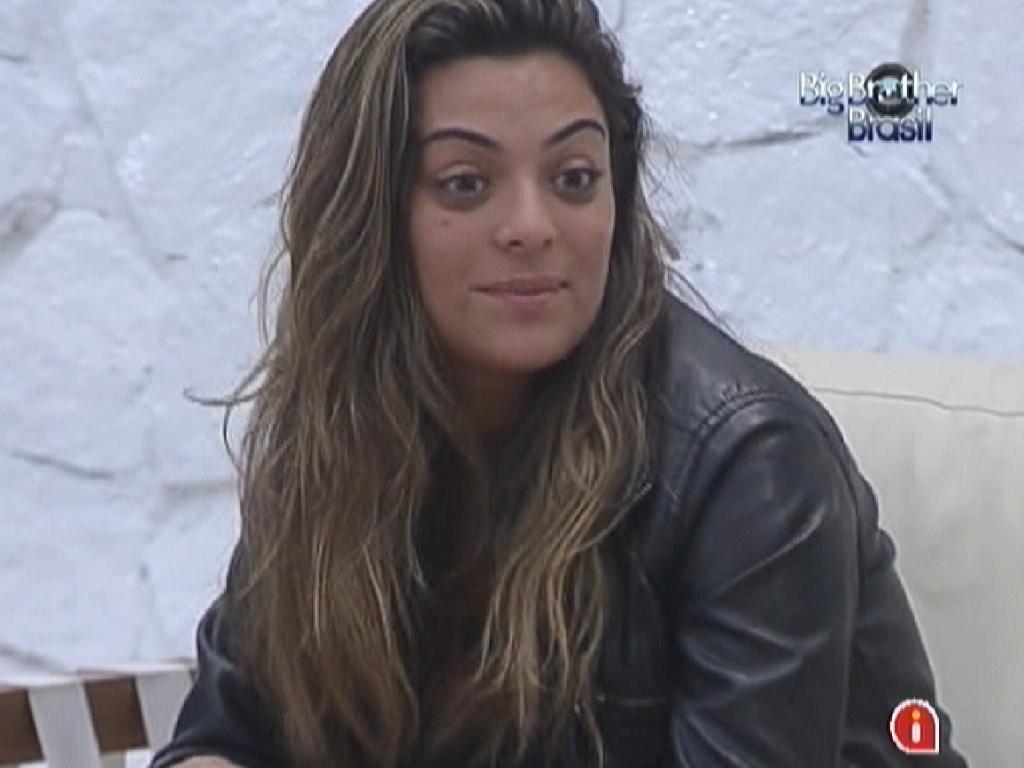 Monique fala com João Carvalho sobre medo do paredão deste domingo (18/3/12)