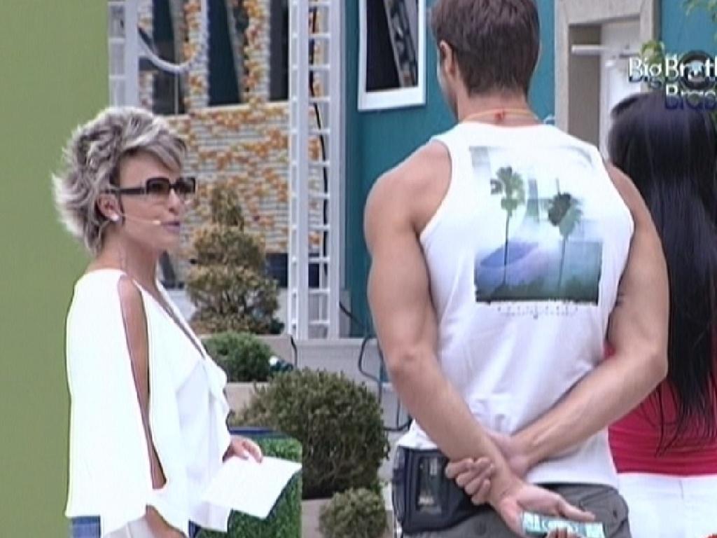 Ana Maria Braga conversa com Jonas e Kelly (19/3/12)